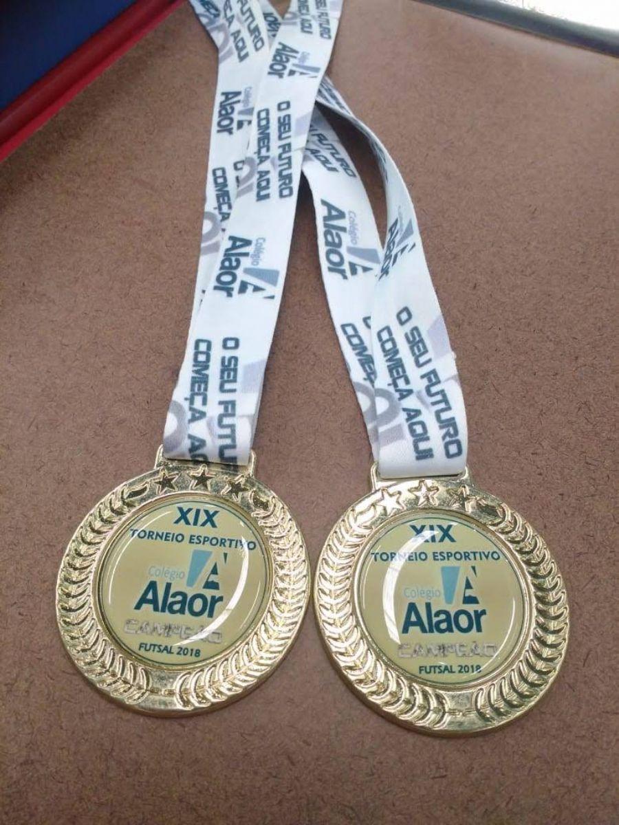 Torneio Esportivo - As medalhas